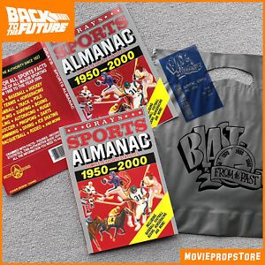 Grays-SPORTS-ALMANAC-Movie-Prop-from-BACK-TO-THE-FUTURE-II-with-receipt-amp-bag
