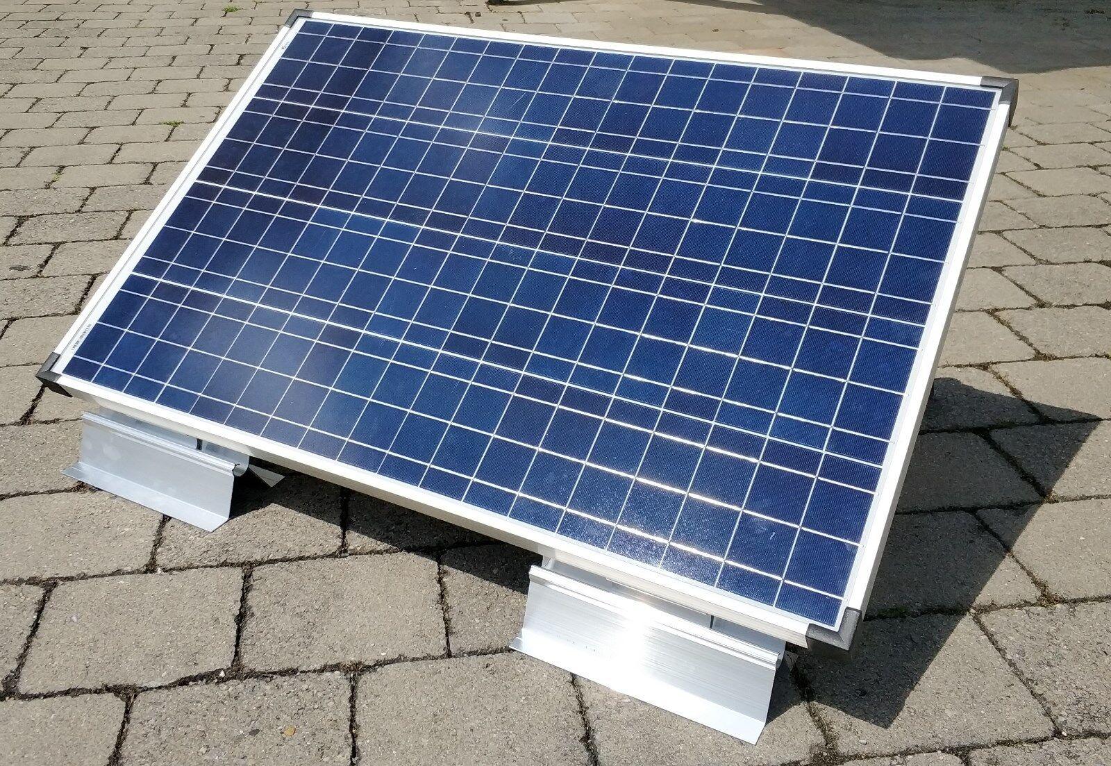 Solarmodul Aufständerung verstellbar bis 40° für alle Modulgrößen geeignet  NEU