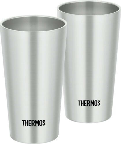Thermos  JDI-300P-S Vacuum Insulated Stainless Tumbler 2 Set 0.3L