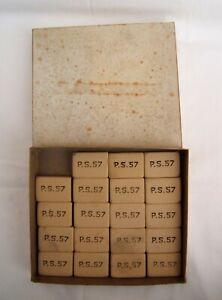 ancien lot de gommes de couturière P.S.57 boîte de détaillants HKcKJ8Jc-09094236-606554699