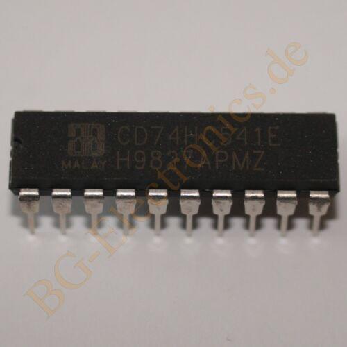 2 x CD74HC541E High Speed CMOS Logic Octal Buffer and Line Harris DIP-20 2pcs