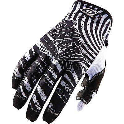 ONEAL O/'NEAL JUMP motocross gloves CRYPT blk//wht mens sz 9 MEDIUM ATV  0385-109