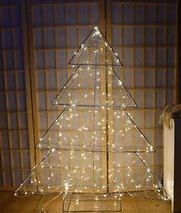 Impressionen Tannenbaum.Details Zu Impressionen Led Tannenbaum 3d Modern Silberfarben Weihnachtsbaum Christbaum A1