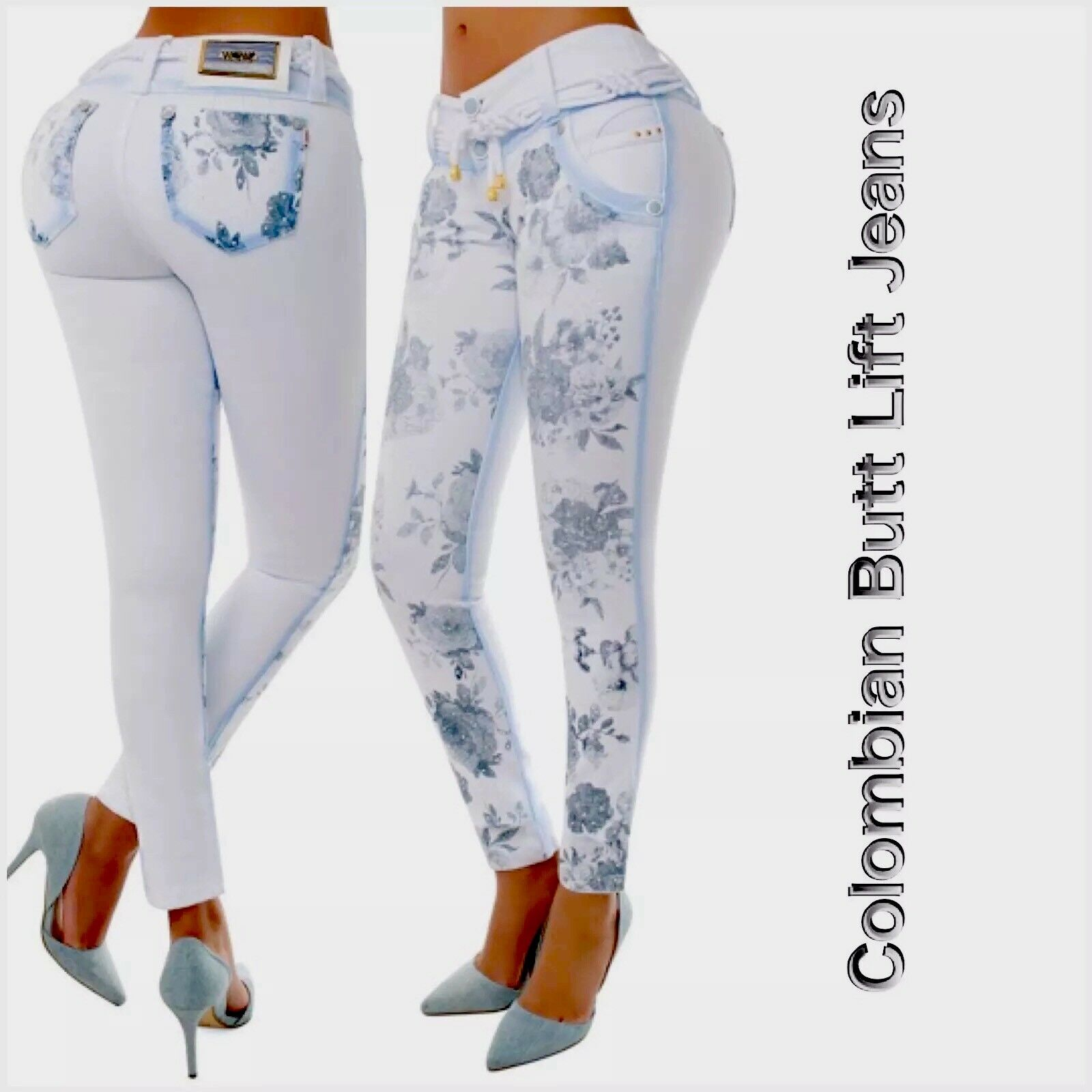 Colombian Butt Lift  Jeans Size 1 2,3 4,5 6,7 8