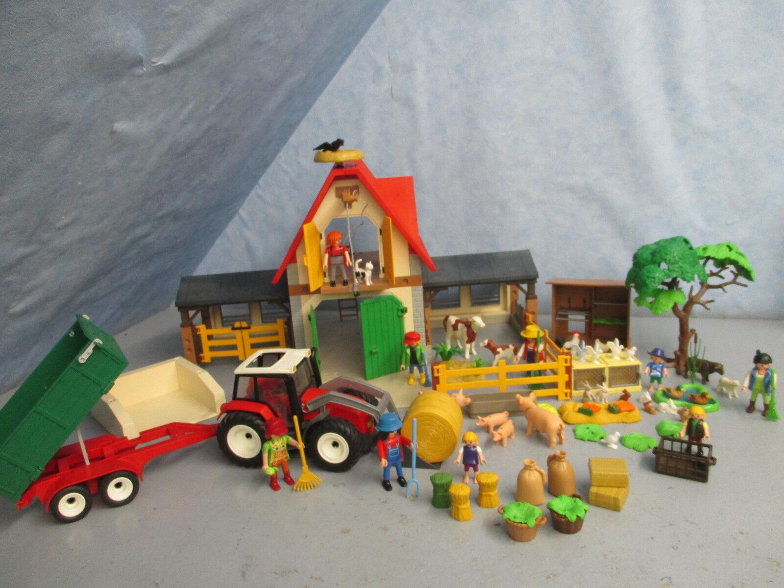 4490 Hasenstall Bauernhof 4496 Traktor Hasenstall 4490 Hühnerstall  Playmobil 4692 dedd6e