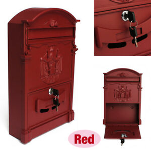 heavy duty mailbox. Image Is Loading Mail-Box-Heavy-Duty-Mailbox-Postal-Box-Security- Heavy Duty Mailbox M