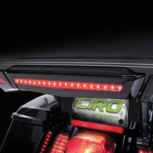 40005 Ciro Black Center Brake Light for Harley Touring