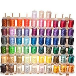 63-Spools-Brother-Colors-Polyester-Embroidery-Machine-Thread