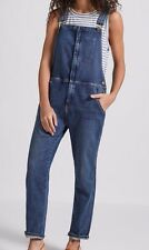 NEW $348 CURRENT ELLIOTT RANCH HAND OVERALLS SMALL DENIM JEANS REESE NORDSTROM