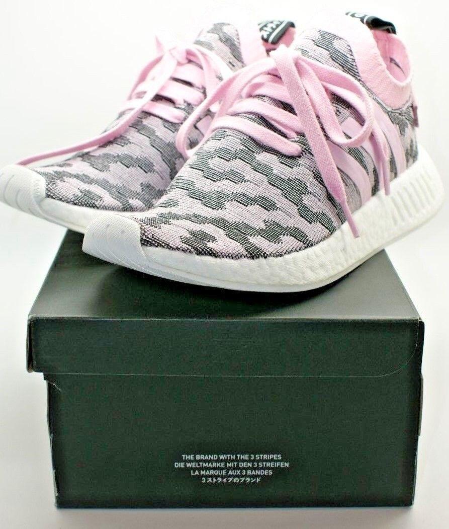 Originals Women NMD R2 PK Primeknit Sneaker shoes BY9521 Pink 8.5 NIB 170