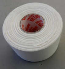 Mueller White Sports Wrap Self Bandage Tape One Size Fits All Sticky 15 yards