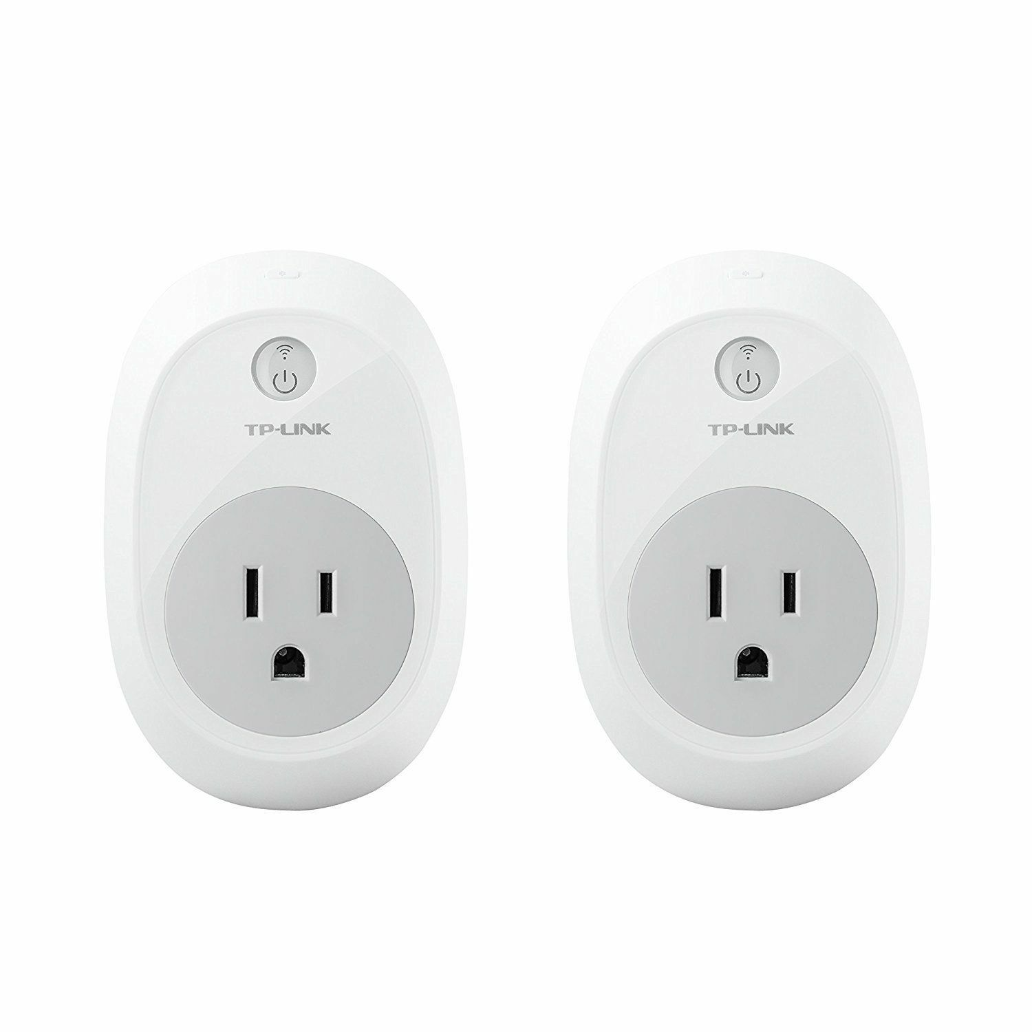 TP-Link HS100KIT (2 Pk)Smart Plug. Control from anywhere. Work with Alexa+Google