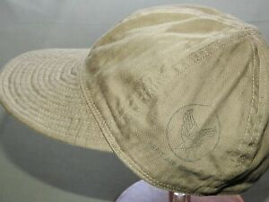 US-Army-AAF-WW2-EASTMAN-OD-HBT-A-3-MECHANIC-039-S-CAP-MINT-NWT-Vtg-Style-Ball-Hat