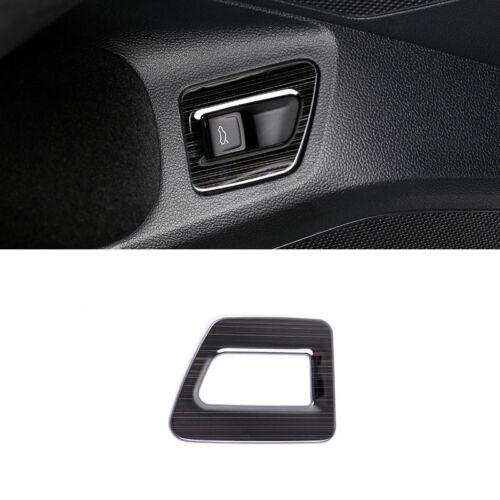 Black Rear Trunk Button Switch Cover Trim 1pcs For Volkswagen Arteon 2017 2018