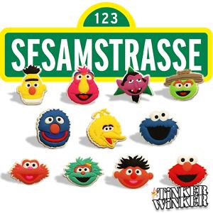 SESAMSTRASSE-Pins-Pin-Croc-Crocs-jibbitz-Kruemelmonster-Clogs-Scrapbooking-Disney