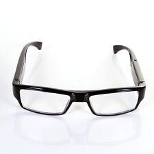 720P SPY Camera Glasses Hidden Eyewear DVR Radio Security Recorder Camcoder +8GB