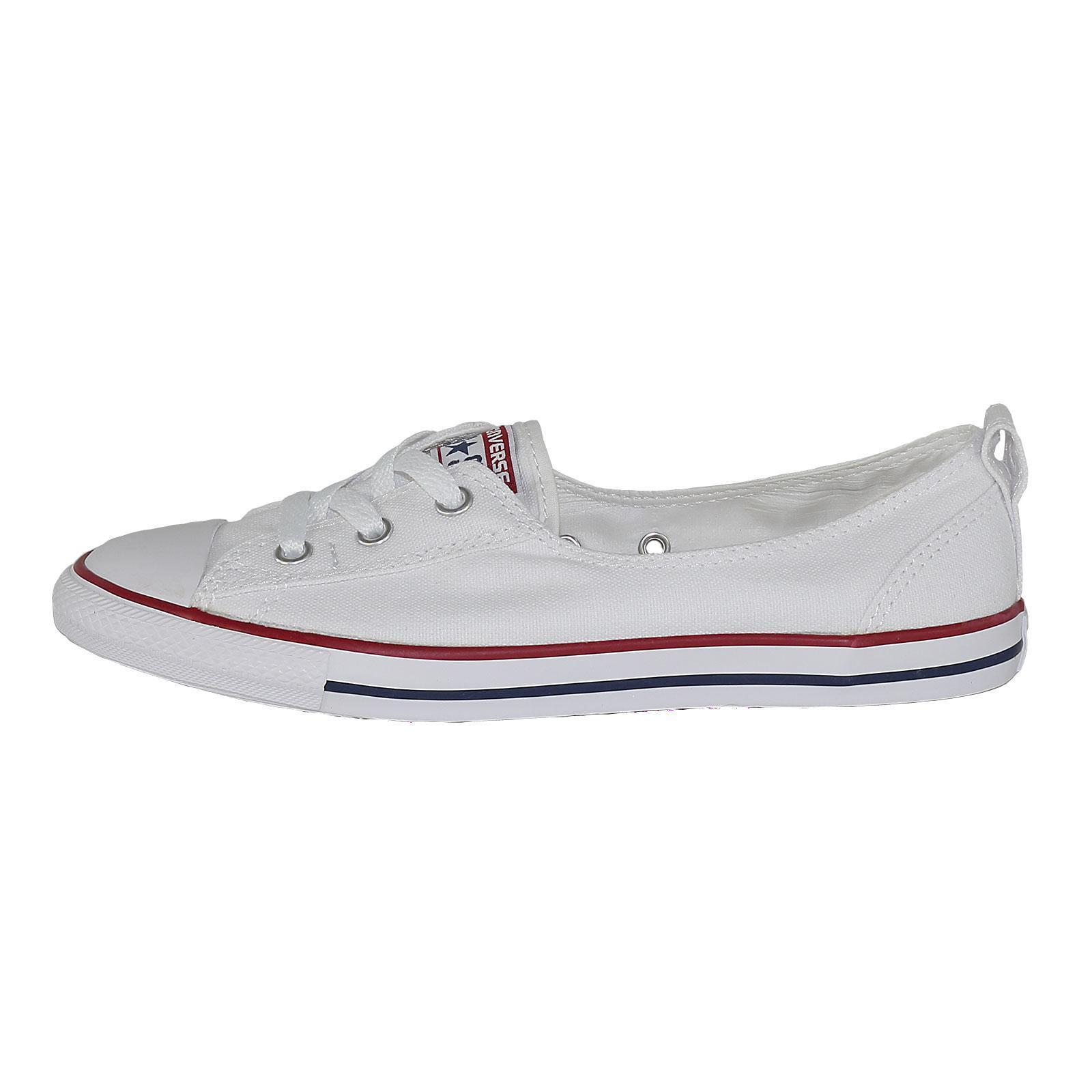 Converse CT Ballet Lace Slip Damenschuh Schuhe Slipper, Farbe weiß, 51050