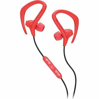 SkullCandy Chops Active Sports Gym In-Ear Hook Headphones iPhone Mic3+ Remote