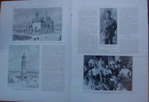 L'ILLUSTRATION 4126 DU 1/4/1922 EINSTEIN  SAINT-MAIXENT  FOUAD ROI EGYPTE GANDHI