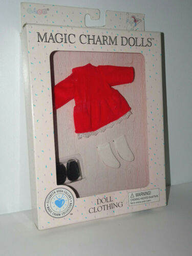 New in box Magic Charm Doll-Red Velvet Dress From Elizabeth Koda Callan