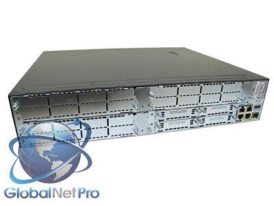 UPG CISCO3825-V//K9 Router IOS 15.1 w// PVDM2-48 8.6 Installed 3825 VK9