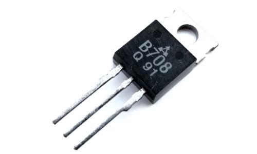 B708 2SB708 Transistor PNP 80V 7A 40W 1 pcs