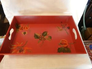 Red-Wood-Serving-Tray-Flowers-amp-Fruit-by-Tracy-Porter-Octavio-Hill-Collection