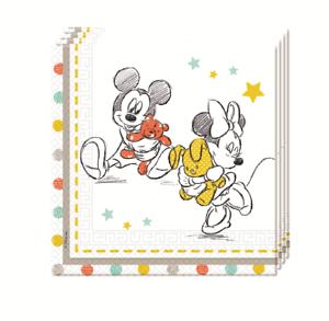 Baby Shower Disney fiesta servilletas recibo un bebé fiesta mesa Decoración