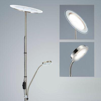 Design LED Decken Fluter Steh Energie Spar Lampe Wohnraum Stand Leuchte flexibel