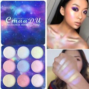 9-Colors-Face-Glow-Concealer-Highlight-Glitter-Eyeshadow-Palette-Makeup-Dek-E9M9
