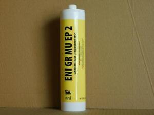 9-90-kg-AGIP-ENI-GR-MU-EP2-Hochstdruck-Schmierfett-1-x-500-gr-Kartuschen
