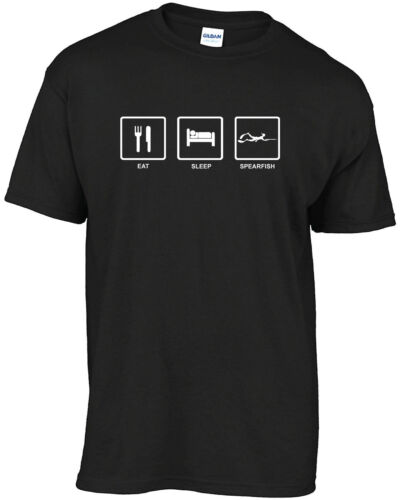 Spearfishing Eat Sleep Spearfish t-shirt