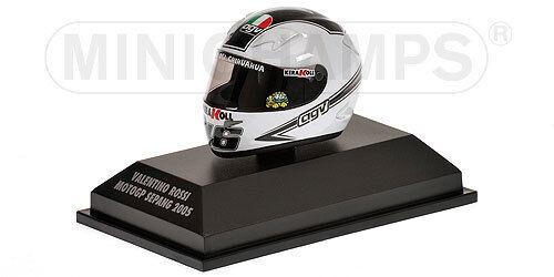 MINICHAMPS 397 050066 AGV HELMET Valentino Rossi Sepang MotoGP 2005 1 8th scale