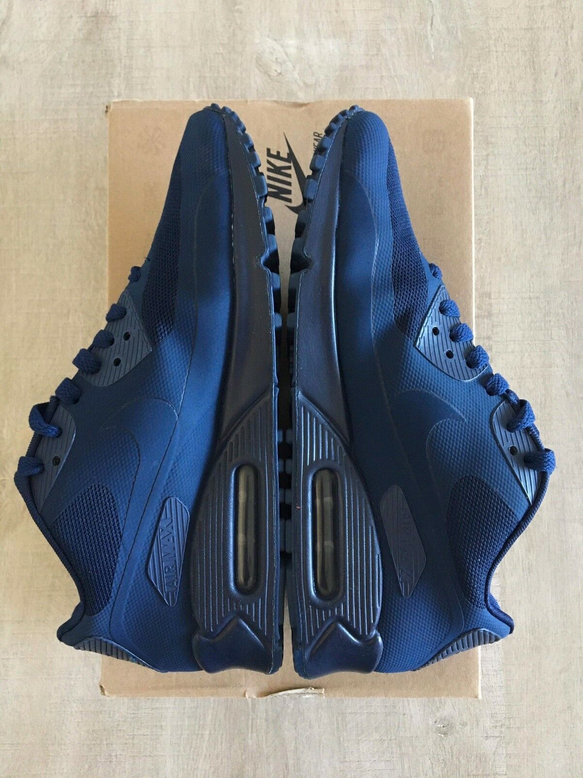 Nike Air Max 90 Hyperfuse Independence Day USA QS QS QS Midnight Navy - 7US/40EUR/6UK 3aee28