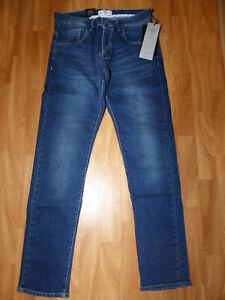Neue-883-Police-Cassad-18B-Regular-Denim-Herren-Jeans-Gr-W32-L32-Mittel-Blau
