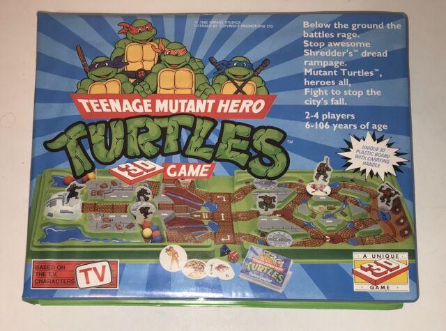 Teenage Mutant Ninja Turtles Keychain 3D Figurine with Puzzle Card Blind Package