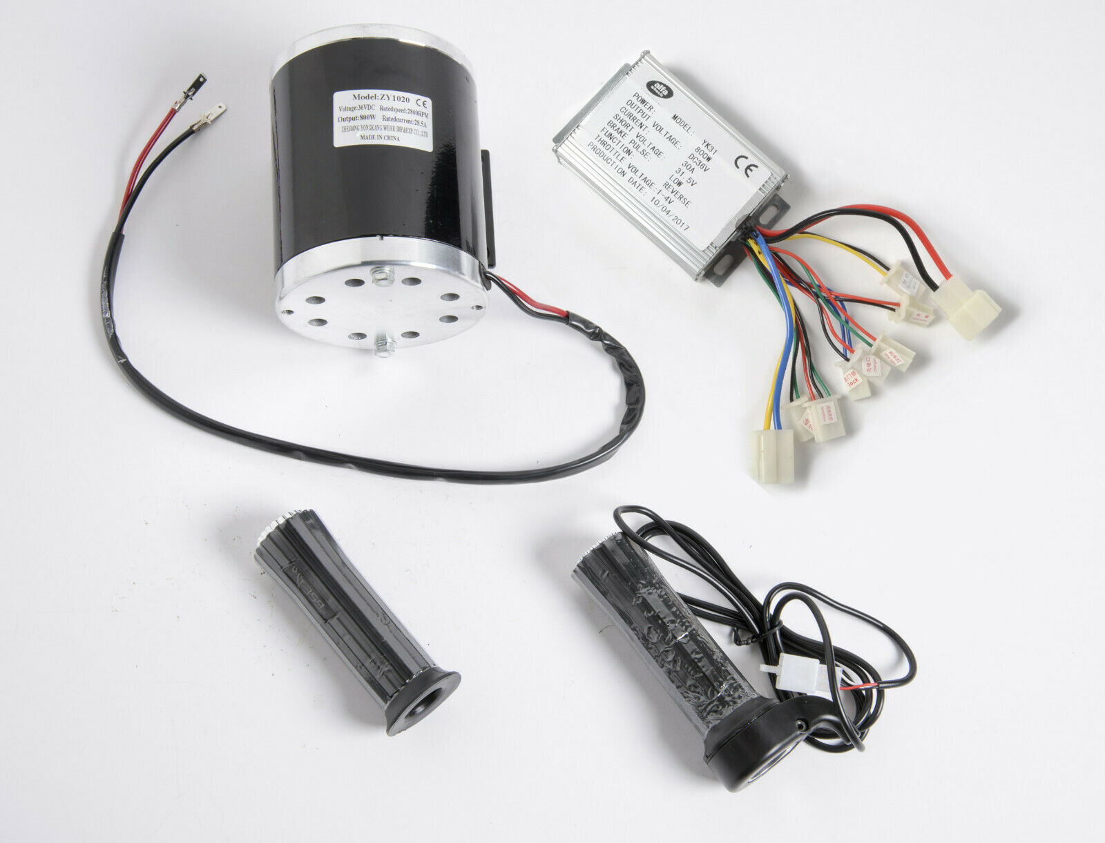 800 Watt 36 Volt electric motor kit w base speed control w Reverse & Thredtle