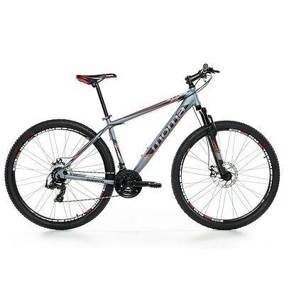 "VTT 29"" Mountainbike ALUMINIUM SHIMANO PROFESSIONNEL, 2xDISQUE, SUSPENSION"