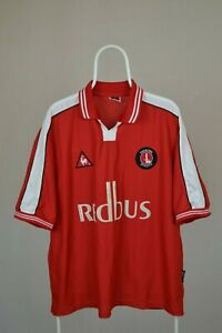 CHARLTON-ATHLETIC-2000-2002-LE-COQ-SPORTIF-HOME-FOOTBALL-SHIRT-JERSEY-Sz-46-48