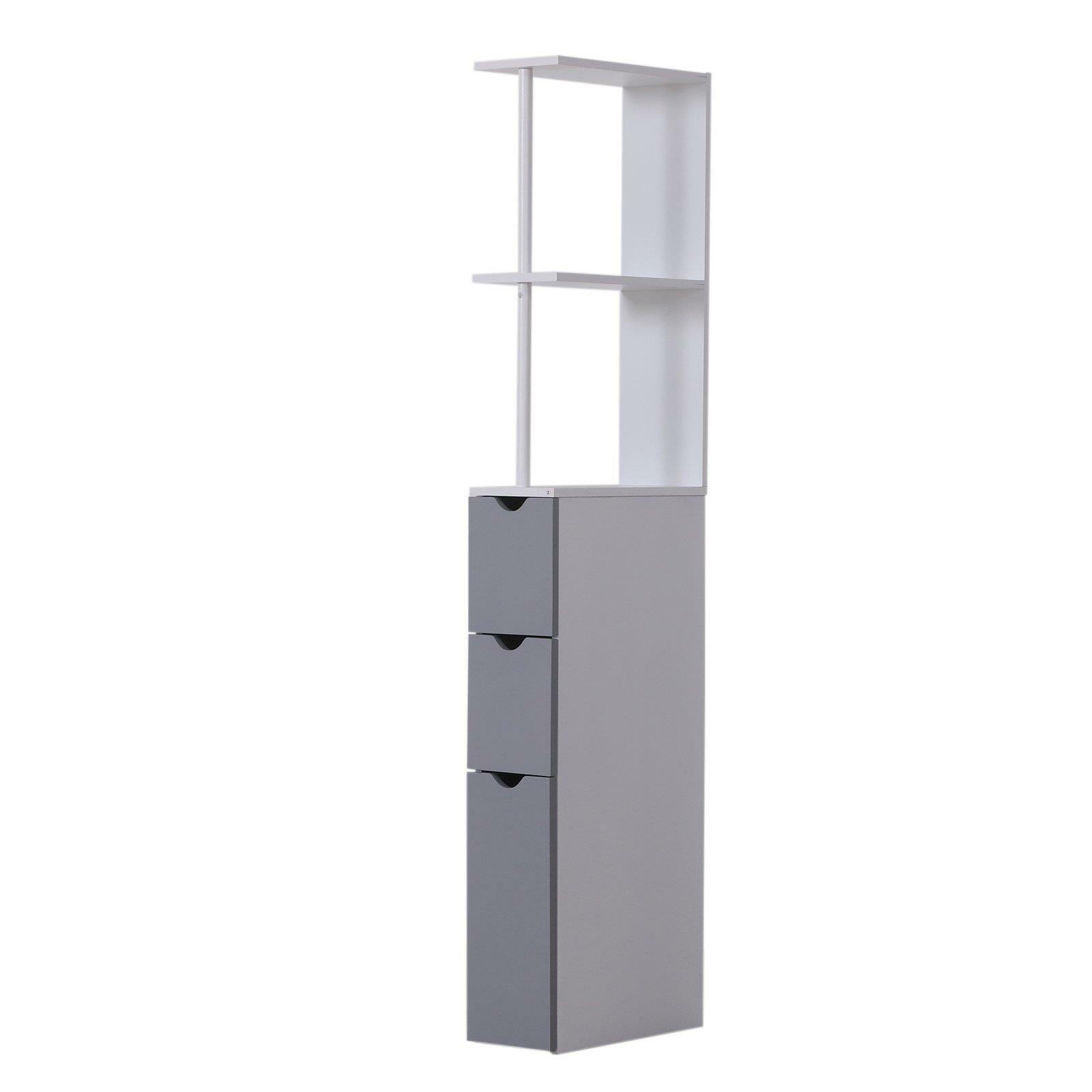 Slim Profile Bathroom Cabinet Tall Thin