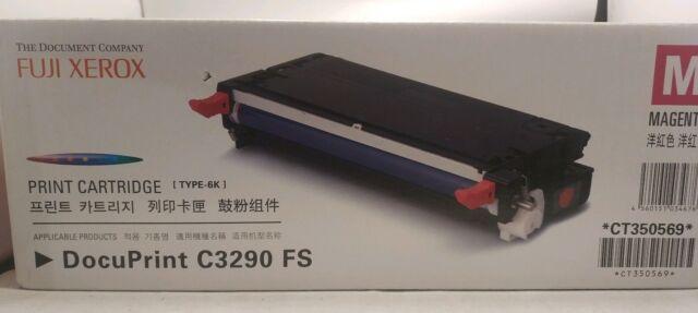 Genuine Fuji Xerox CT350569 Magenta Toner Cartridge DocuPrint C3290 FS Sealed