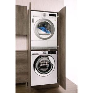 Mobile bagno lavanderia colonna lavatrice asciugatrice unika 3 colori disp ebay - Mobile per lavatrice e asciugatrice ...