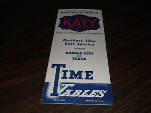 JUNE-1962-MISSOURI-KANSAS-TEXAS-RAILROAD-MKT-KATY-PUBLIC-TIMETABLE