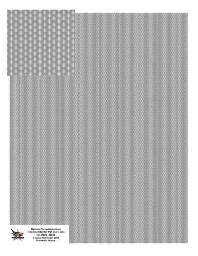 Grande Planche Decals 1//12 Aluminium Bouchonné FFSMC Productions