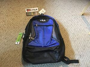 Image is loading New-With-Tags-Fila-Tempo-Backpack-Royal-blue- 24999446ecaed
