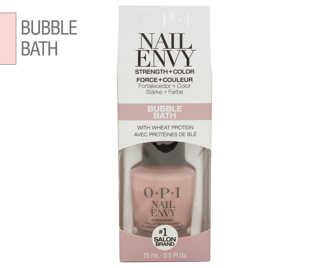 OPI Nail Envy Bubble Bath Nt222 by Myer | eBay