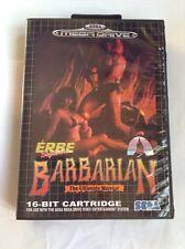 Megadrive Genesis Barbarian Free Region Boxed Game Cart last 1 left