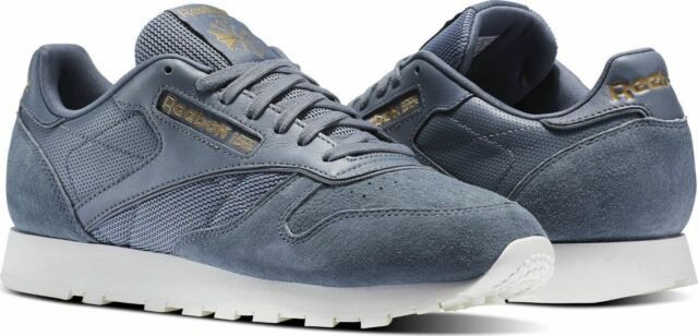 c65af22a1d9 Reebok Classic Leather ALR Mens Running Training Shoes Asteroid Dust Grey  BS5242