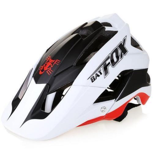 MTB Bike Helmet Mountain Bicycle Cycling Detachable Visor  Free Helmets Cover