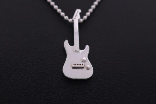 Electric guitar heavy metalGaonDaon Hot Item silver 925 pendant /& necklace Gd02